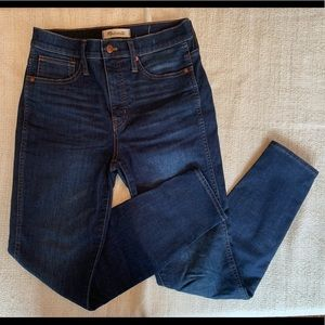 """Madewell 10"""" high rise jeans size 26 (MAKE OFFER)"""